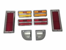 1967-1972 Chevy Truck GMC Billet Tail Light bezels and Marker Light led kit