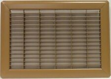 "Mobile Home or Floor Return Air Grill Only 14""x20"" Brown"