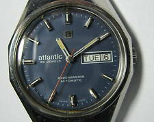 ATLANTIC Mastermariner automatic ETA 2789 premium mechanical Swiss watch 1970.