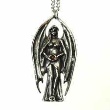 New Galraedia Lilith Dark Angel Pendant Necklace Crystal GA17