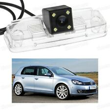4 LED Car Rear View Camera Reverse Backup CCD for Volkswagen Golf MK6 2009-2012