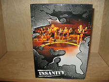 INSANITY Body Conditioning Program 10 DVD Set Complete w/Guides BEACHBODY