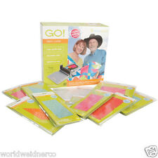 AccuQuilt GO!™ Fabric Cutter MIX & MATCH Starter Set incl. 9 dies and 3 mats