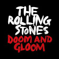 """Rolling Stones, Doom & Gloom, NEW/MINT Ltd edition one sided etched 10"""" single"""