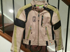 DIESEL BOYS LEATHER JACKET  SIZE XS -  AGE 4 YEARS +  GOOD CONDITION