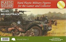 Plastic Soldier 1/72 M5 / M5A1 Half Tracks (3 Fast Assembly Vehicles)