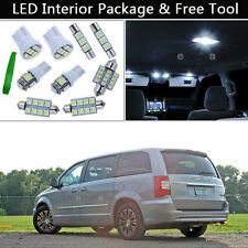 14PCS LED Interior Lights Package kit Fit 01-2005 Chrysler Town & Country J1