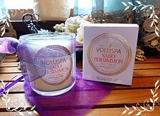 Voluspa Maison Blanc Collection No.73 Saijo Persimmon Candle Coconut Wax 3oz NIB