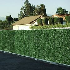 Artificial Faux Conifer Hedge Plastic Fence Privacy Garden Screening 2m H x 3m L