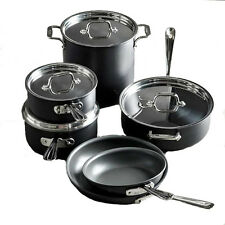 New. All-Clad NS1 Nonstick Induction 10-Piece Cookware Set