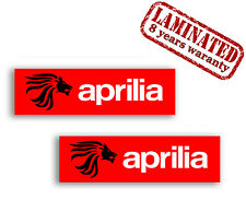 2 x AUFKLEBER STICKERS AUTO APRILIA LION LÖWE TURBO DECAL TUNING RACING MOTORRAD
