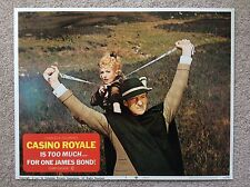 CASINO ROYALE Original JAMES BOND 007 Lobby Card 5 DAVID NIVEN DEBORAH KERR