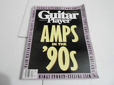 DEC 1990 GUITAR PLAYER --- vintage music magazine --- AMPS IN THE 90s