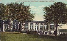 Canada Montreal - Restaurant Parc Mont-Royal old used not mailed postcard