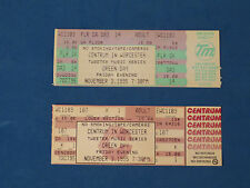 GREEN DAY UNUSED CONCERT TICKET 11-3-1995 CENTRUM IN WORCESTER VERY GD CONDITION