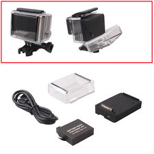 Expanded BacPac Battery Box+AHDBT-401 Battery+Backdoor Case for GoPro Hero3/3+/4