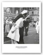 MILITARY ART PRINT Kissing the War Goodbye