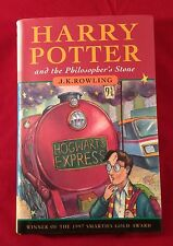 Harry potter and the philosopher's stone cartonnée 1st première édition d'impression 12th