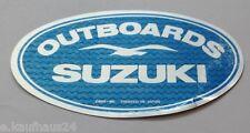 Aufkleber SUZUKI OUTBOARDS Außenborder Motor Bootssport 80er Jahre Sticker