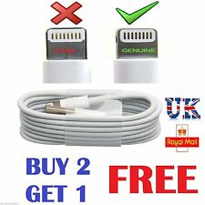 New Genuine Apple iPhone 6 6S 6Plus SE 5/S 7 Lightning To USB Charger Lead Cable