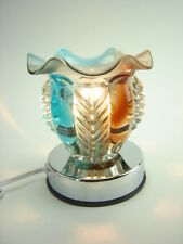 3 Way Multi Color Glass Oil burner Touch Lamp