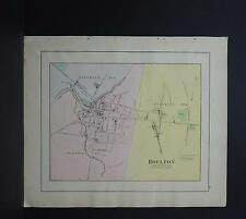 Maine, Antique Map, 1903 City of Houlton NOT A REPRODUCTION