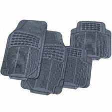 4 PIECE HEAVY DUTY RUBBER CAR MATS FOR RENAULT CAPTUR CLIO ALPINE ESPACE KADJAR