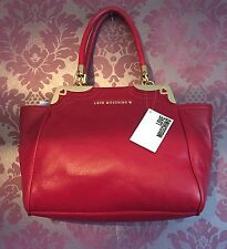 Brand New Love Moschino Red Leather Bag JC4105PP1JLP0500 Rrp £300