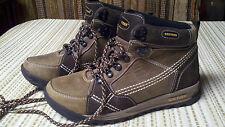 Greyder WOMENS Size 37 EU / 6.5 U.S. Fashion  HIKING BOOTS BROWN LEATHER