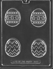 Easter Designer Large Egg Oreo Cookie Chocolate Mold SHIPS SAME DAY m174
