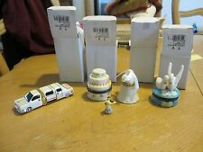 Ceramic Wedding Ring Holder Box - Limo - Cake - Bell - Swan - Just Married