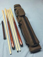 J&J Custom Rosewood Sneaky Pete Combo Set Play Cue, Break Cue, Jump Cue & Case