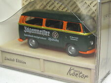 Wiking 1:87 VW T2 Bus orig. packaging Jägermeister