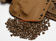 "50x #8-9 1/4"" Coyote Rivets Eyelets Custom DIY Kydex Holster Hardware .08-.093"