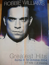 ▓ POSTER PROMO ▓ ROBBIE WILLIAMS : GREATEST HITS