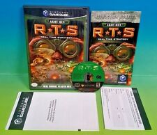 Army Men RTS - NGC Nintendo Gamecube Game Complete CIB - Real Time Strategy