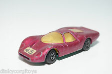 LESNEY MATCHBOX SUPERFAST 45 FORD GROUP 6 MET. PINK EXCELLENT CONDITION