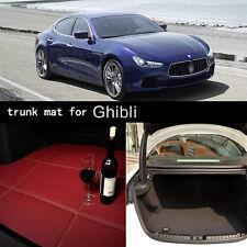 Anti Scrape Special Grade PU Leather Folding Car Trunk Mat For Maserati Ghibli