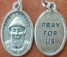 "St. Saint Charbel Medal 7/8"" + Maronite Priest & Monk + Lebanon +"