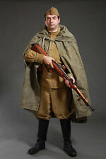 SOVIET RUSSIAN RED ARMY SOLDIER RAIN PONCHO COAT PLASH-PALATKA ONE SIZE