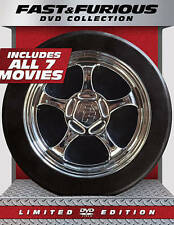 ~ Fast And Furious 1-7 DVD Collection~ Tire Limited Edition Movies Series~~NIB~