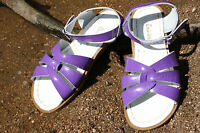 Ladies Adult Saltwater Sandal - Purple Patent