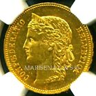 SWITZERLAND 1894 B GOLD COIN 20 FRANCS * NGC CERTIFIED GENUINE MS 60 * AWESOME