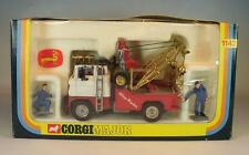 Corgi Toys Major 1142 Holmes Wrecker mit Figuren in rarer Box #4291