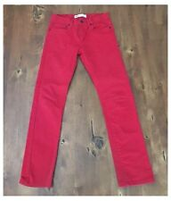 Levis Red Jeans 510 Super Skinny Stretch Size Boys 18R W 29