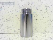 """Chrome Shower Arm Extension Fixed Length 1/2"""" x 40mm Male to Female Joiner"""