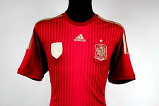NEW RARE SHIRT ADIDAS SPAIN 2013/15 HOME FIFA JERSEY CAMISETA SIZE (M)