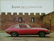 Jaguar XK-E 2+2 Family Coupe E Type  USA  Sales Brochure.