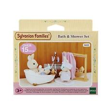 Sylvanian Families Collectable Pretend Play Toy Bath & Shower Set