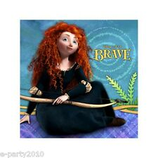 BRAVE SMALL NAPKINS (16) ~ Birthday Party Supplies Disney Pixar Cake Dessert